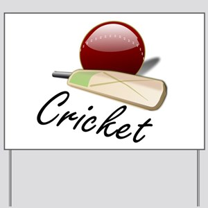 cricket Yard Sign