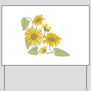 Sunflower Corner Yard Sign