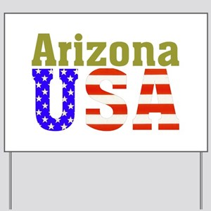 Arizona USA Yard Sign
