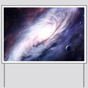 Milky Way Yard Sign