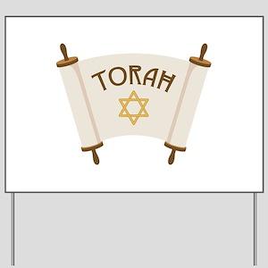 TORAH * Yard Sign