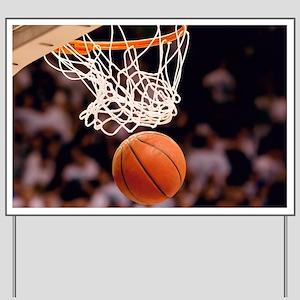Basketball Scoring Yard Sign