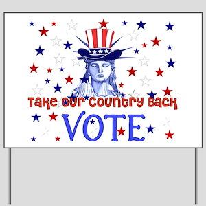 Vote Election 2008 Yard Sign