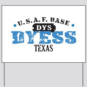 Dyess Air Force Base Yard Sign