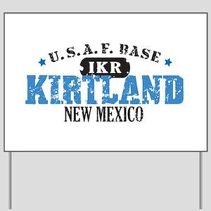 Kirtland Air Force Base Yard Sign