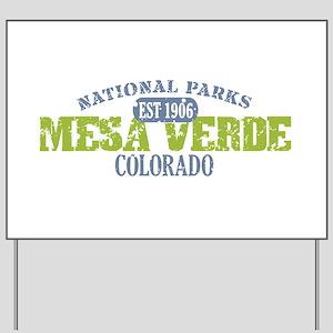 Mesa Verde Colorado Yard Sign