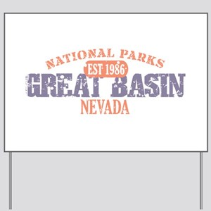 Great Basin National Park NV Yard Sign