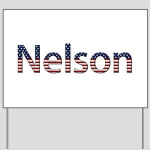 Nelson Stars and Stripes Yard Sign