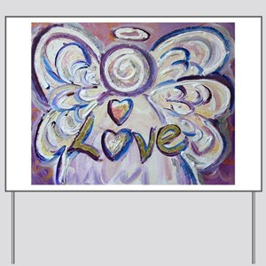 Love Angel Yard Sign