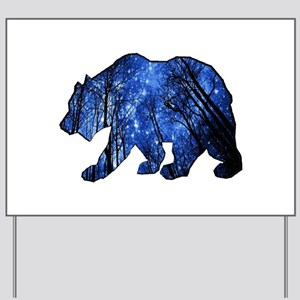 BEAR NIGHTS Yard Sign