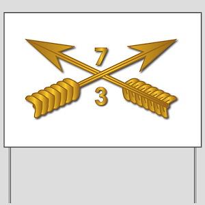 3rd Bn 7th SFG Branch wo Txt Yard Sign