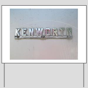Kenworth Emblem  Yard Sign