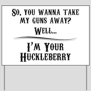 Gun Lover Gifts Yard Sign