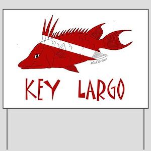 fish 001 Yard Sign