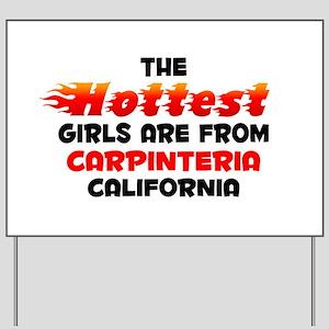 Hot Girls: Carpinteria, CA Yard Sign