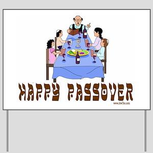 HAPPY PASSOVER Yard Sign