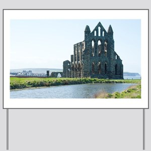 whitby abbey Yard Sign