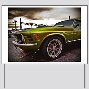 70 Mustang Mach 1 Yard Sign