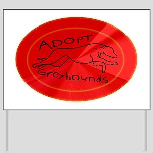 flare hound Yard Sign