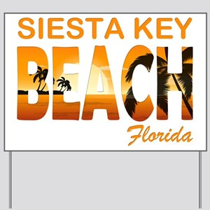 Florida - Siesta Key Beach Yard Sign