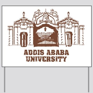addis ababa university Yard Sign