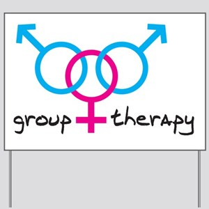 group-therapy-bgb Yard Sign