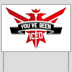 10x10_apparel_iced Yard Sign