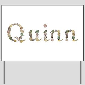 Quinn Seashells Yard Sign