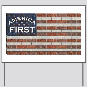 America First Yard Sign