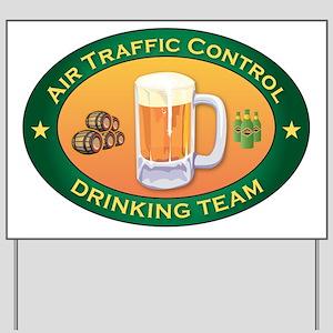 Air Traffic Control Team Yard Sign