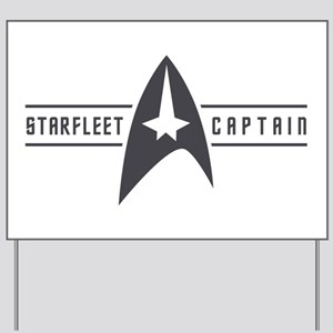 Starfleet Captain Yard Sign
