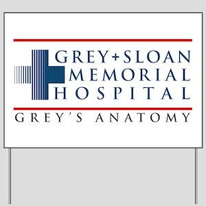Grey Sloan Memorial Hospital Yard Sign