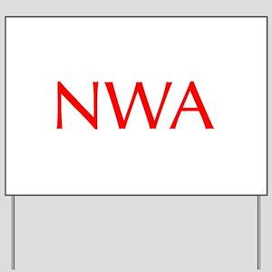 NWA-Opt red Yard Sign