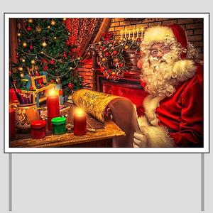 Santa Claus 4 Yard Sign
