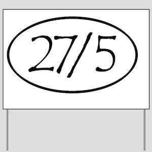 27in5 Lrg Yard Sign