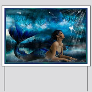 Best Seller Merrow Mermaid Yard Sign