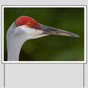 Sandhill Crane Yard Sign