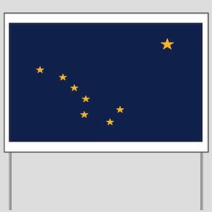 Flag of Alaska Yard Sign