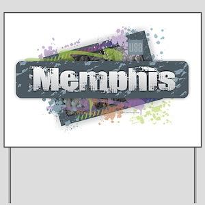 Memphis Design Yard Sign