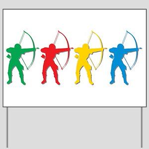 Archery Archers Yard Sign