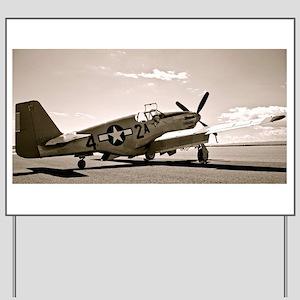 Tuskegee P-51 Yard Sign