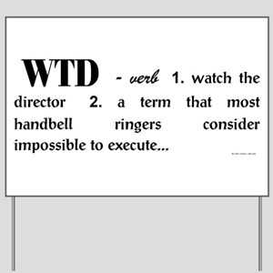 Watch The Director big Yard Sign