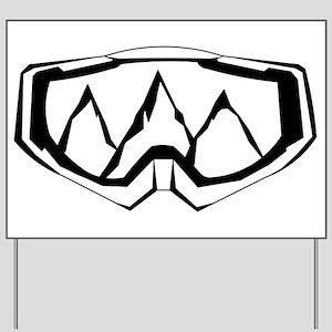 MTB Mask Yard Sign