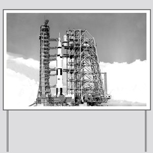 Saturn V Yard Sign