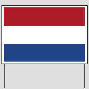 Flag: Netherland Yard Sign
