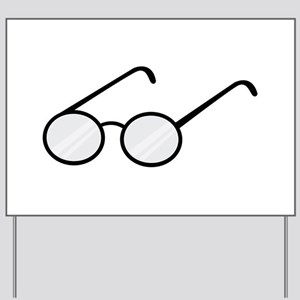 Eye Glasses Yard Sign