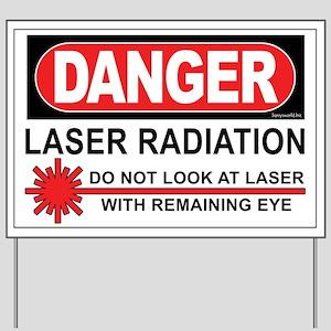 Laser Yard Sign