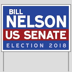 Bill Nelson Yard Sign