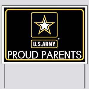 U.S. Army: Proud Parents (Star) Yard Sign