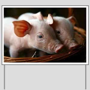 Piglets - Yard Sign
